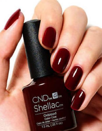 Wishing Manicure or Pedicure CND Polish 90 mins