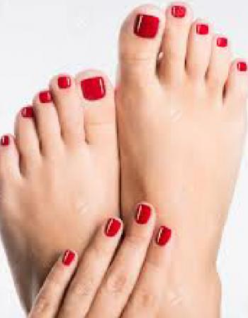 Colour Changing for Manicure or Pedicure 30 mins